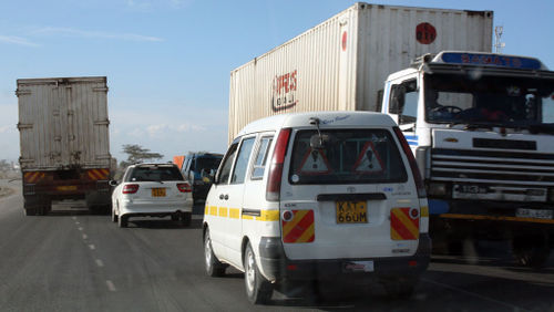 Nairobi Uhuru Highway 3 lanes