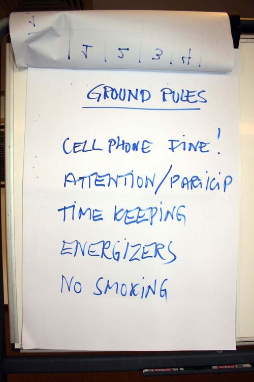 Ground rules small