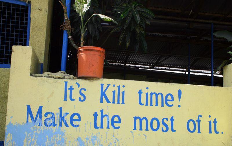 Its kili time