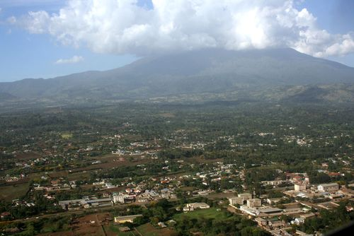 Mount meru from arusha