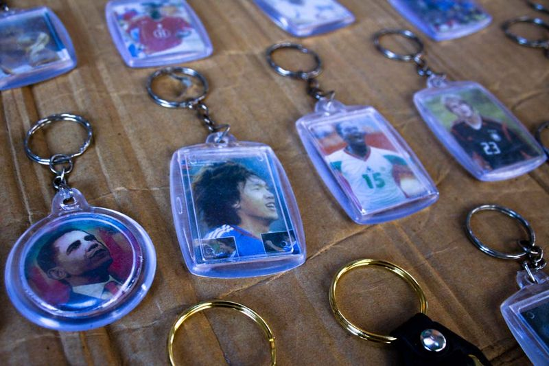 Obama on a keyring