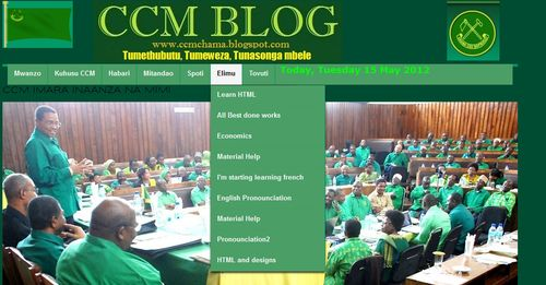 Ccm blog elimu