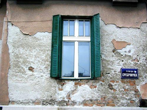 Ulica Srebrenicka. Beograd.Srpska